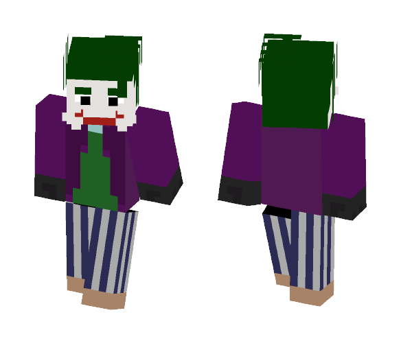 Joker (The Dark Night) - Comics Minecraft Skins - image 1