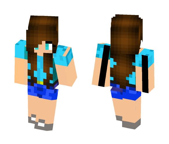 steve girl - Girl Minecraft Skins - image 1