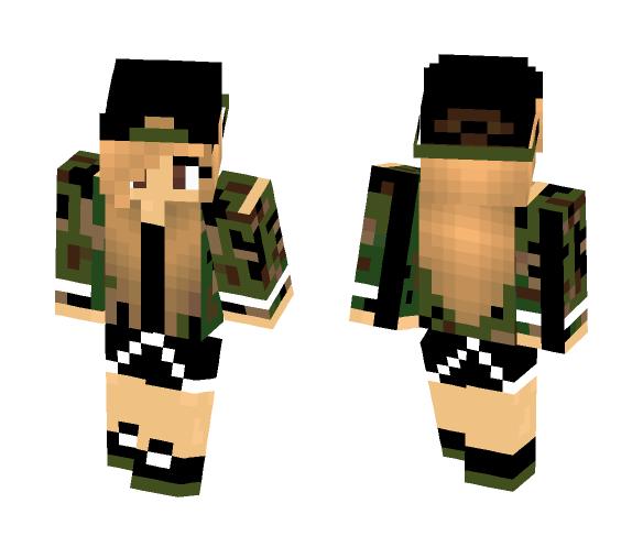 leger girl - Girl Minecraft Skins - image 1