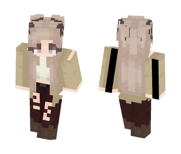 Twisted - Girl Version - Girl Minecraft Skins - image 1