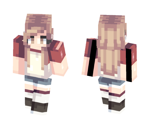 Lucas   Persona - Female Minecraft Skins - image 1