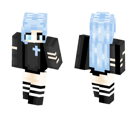 Pisces Zodiac ( Yang ) - Female Minecraft Skins - image 1