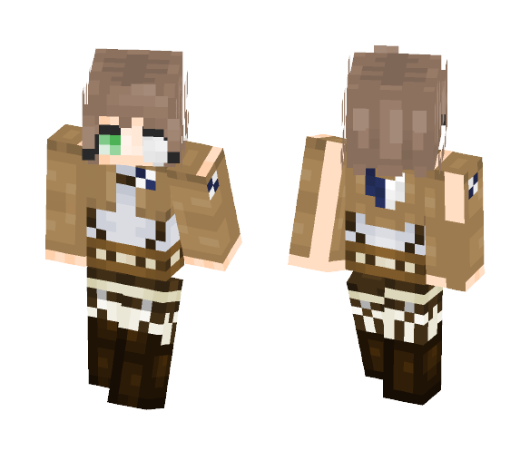 Aot oc (Read desc) - Female Minecraft Skins - image 1