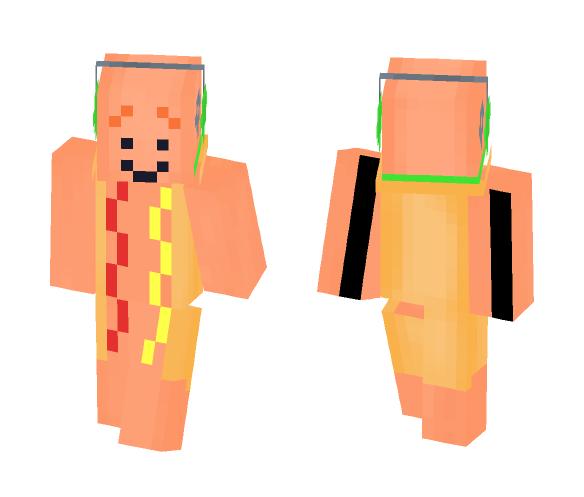 Dancing Hot Dog Meme! - Dog Minecraft Skins - image 1