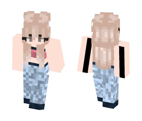 Gym girl - Girl Minecraft Skins - image 1