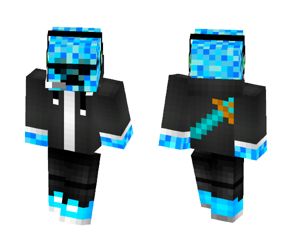 FrostDX Summer Skin - Male Minecraft Skins - image 1