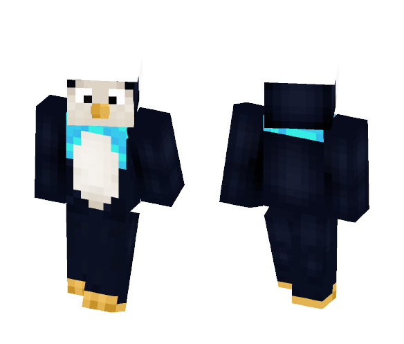 Chilly Penguin - Male Minecraft Skins - image 1