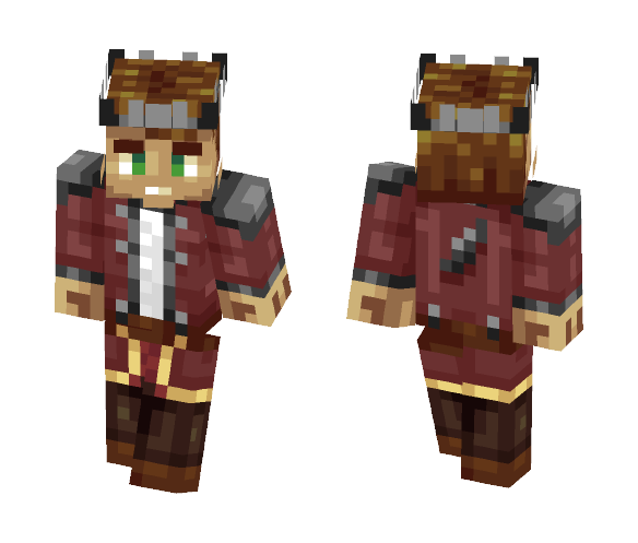The Reverse - Male Minecraft Skins - image 1