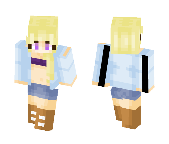 It's hot outside - Female Minecraft Skins - image 1