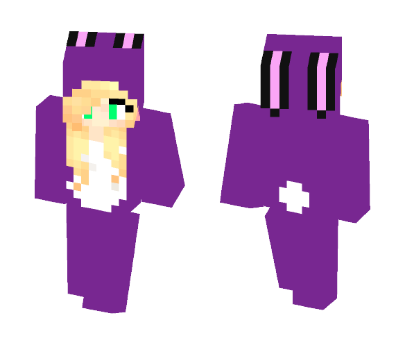 Me as a Bunny! - Female Minecraft Skins - image 1