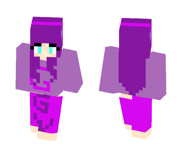 My Gianna Wilfong yt skin - Female Minecraft Skins - image 1