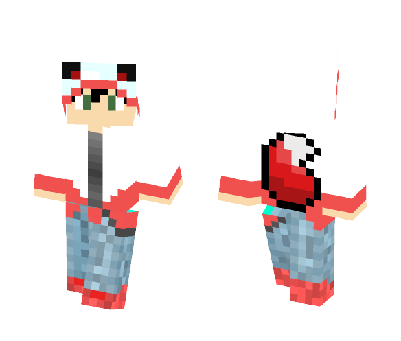 Foximity: Official Skin - Male Minecraft Skins - image 1