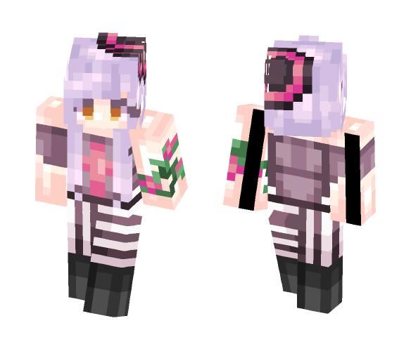 Abandon3dRain - Fanskin (Popreel) - Female Minecraft Skins - image 1