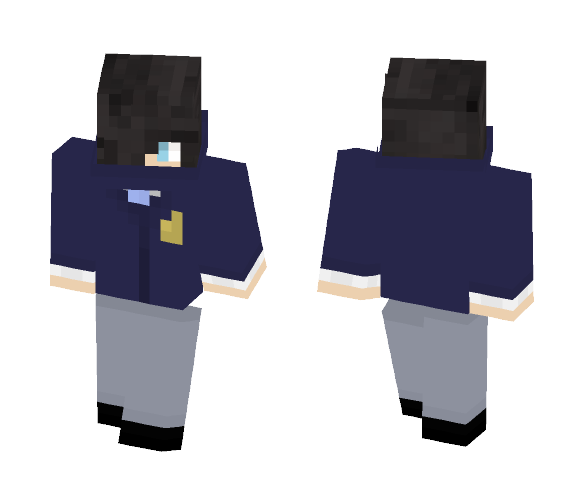 School Zane - Male Minecraft Skins - image 1