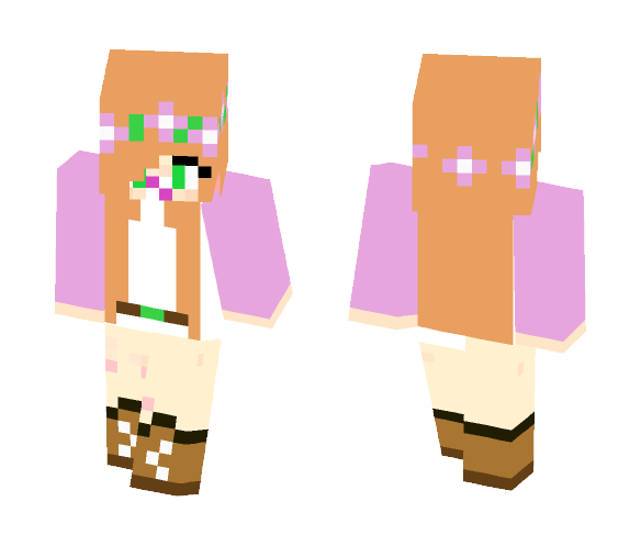Baby Little Kelly (Remake) - Baby Minecraft Skins - image 1