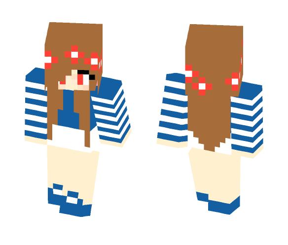 Evil Little Carly (remake) - Female Minecraft Skins - image 1