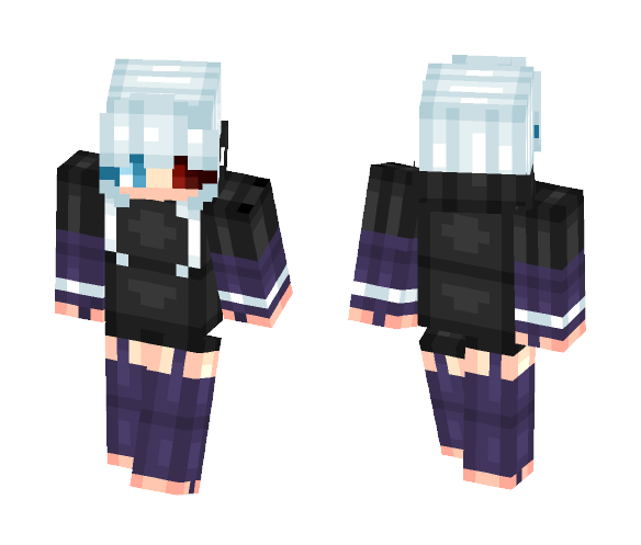 kaneko Actually completed - Female Minecraft Skins - image 1