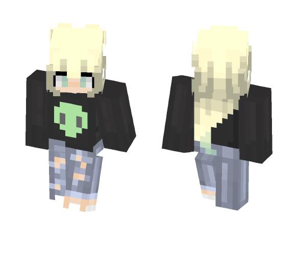 Hi I'm new - Female Minecraft Skins - image 1