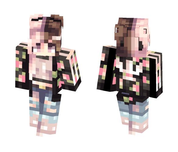 Summer Bummer // - Female Minecraft Skins - image 1
