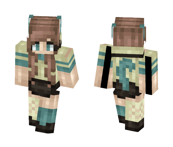 Tied Down - Female Minecraft Skins - image 1
