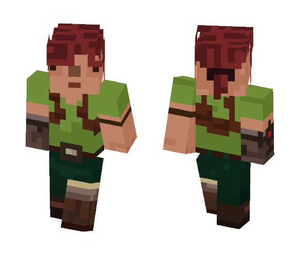 The explorer - Female Minecraft Skins - image 1