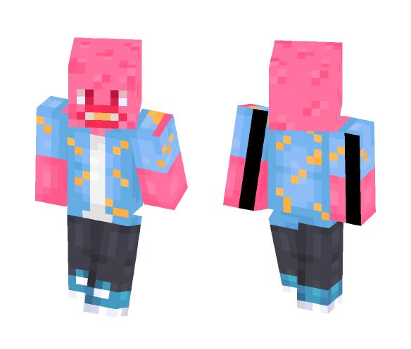 ɢʟʊʙs | Cherry Bomb - Male Minecraft Skins - image 1