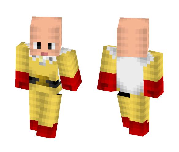 Saitama - One Punch Man - Male Minecraft Skins - image 1
