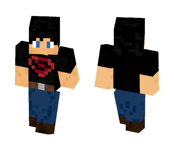 Superboy (Young Justice) - Male Minecraft Skins - image 1