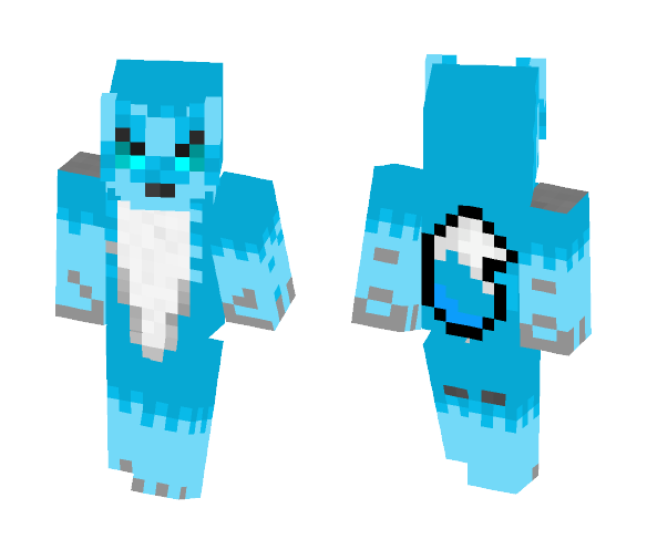 Werewolf boys wolf form - Male Minecraft Skins - image 1