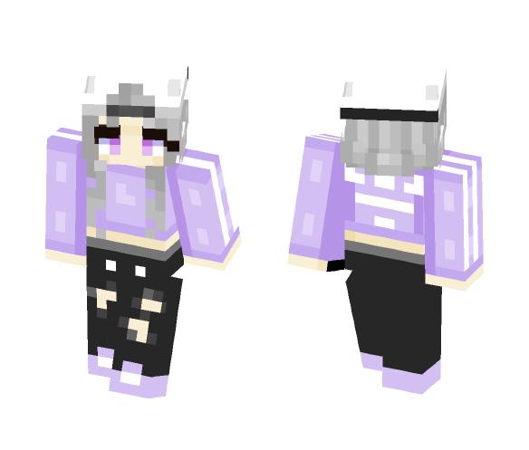 -=+Purple Adidas+=- - Female Minecraft Skins - image 1
