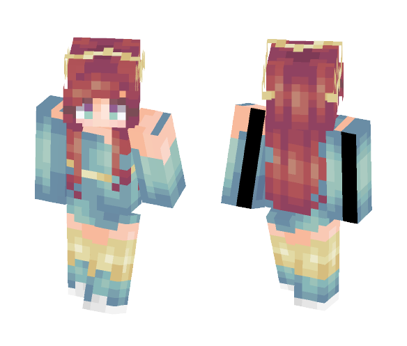 Abyss - Female Minecraft Skins - image 1