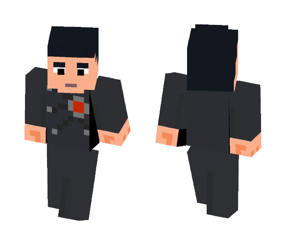 Firestorm (Ronnie Raymond): CW - Male Minecraft Skins - image 1