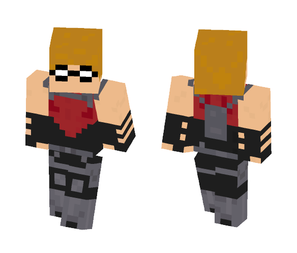 Red Arrow (Young Justice) - Male Minecraft Skins - image 1