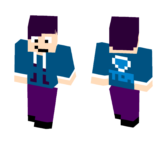 The Real TDM - Male Minecraft Skins - image 1