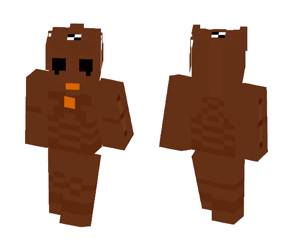 Wooden Upgraded Cyberman - Other Minecraft Skins - image 1