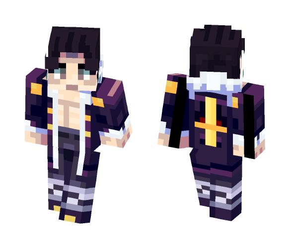 Chrollo Lucifer [Hunter X Hunter] - Male Minecraft Skins - image 1