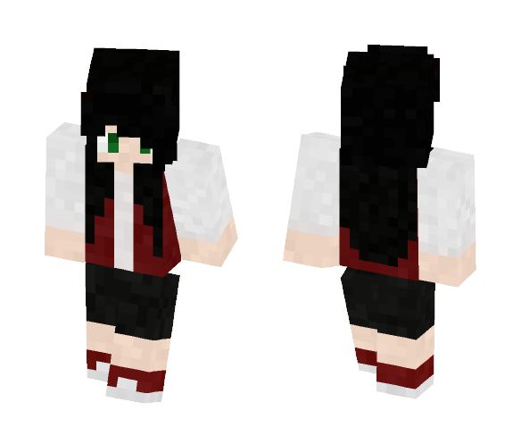 Baseball jacket girl - Girl Minecraft Skins - image 1