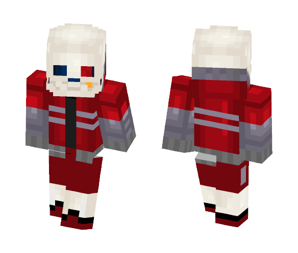 OuterFell Sans - Male Minecraft Skins - image 1