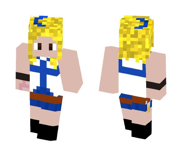 Lucy Heartfilia -{ Fairy Tail }- - Female Minecraft Skins - image 1