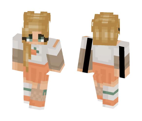 ???? Peaches ???? - Female Minecraft Skins - image 1
