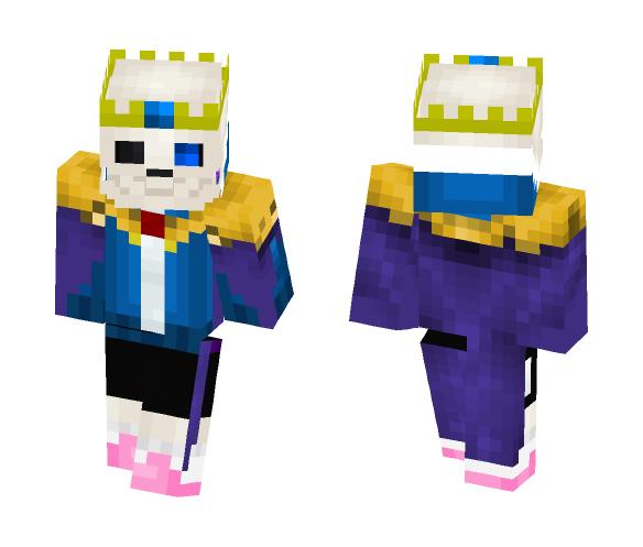 my remake StoryShift Sans - Male Minecraft Skins - image 1