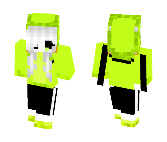 FnafTale sans ( girl version ) - Girl Minecraft Skins - image 1