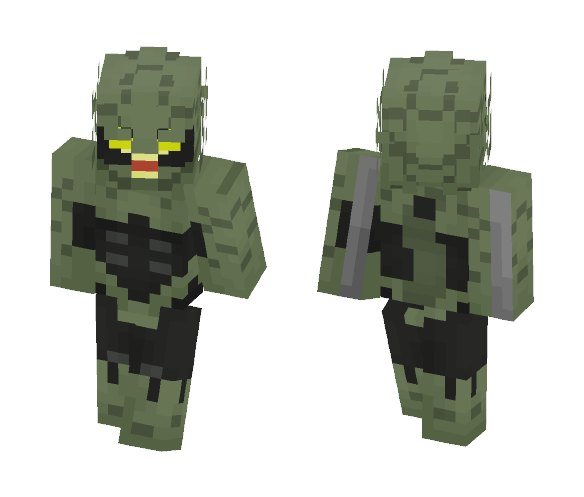 Scorpion(2099) - Male Minecraft Skins - image 1