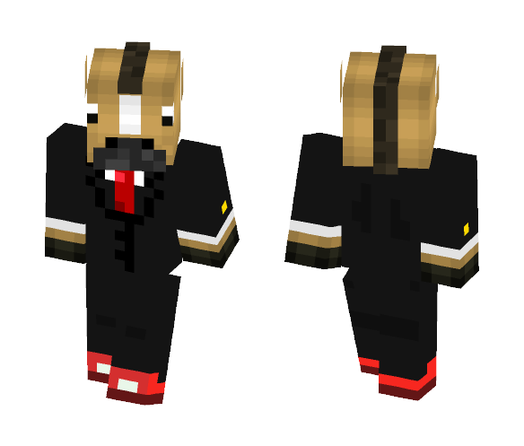 a horse in a toxido - Male Minecraft Skins - image 1