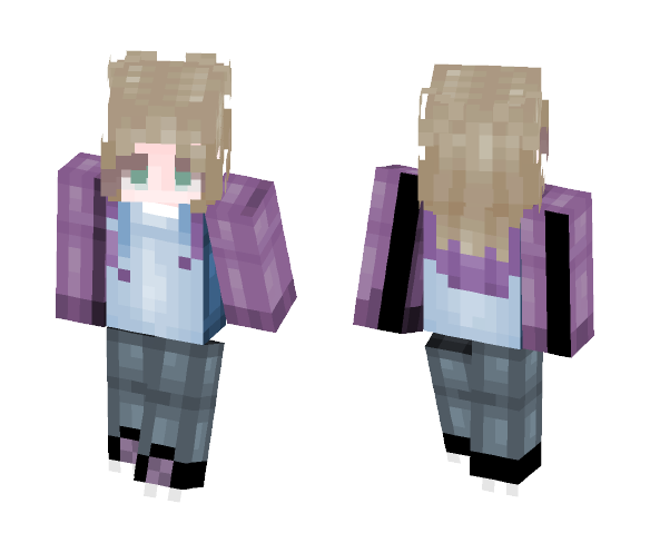 My new and last PE skin - Female Minecraft Skins - image 1