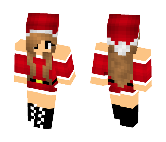 Chrismas Girl - Girl Minecraft Skins - image 1