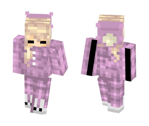 Bedtime skin - Female Minecraft Skins - image 1