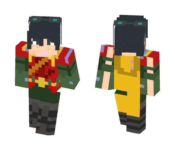Riko sheridan (robin war) - Female Minecraft Skins - image 1