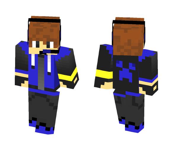 tomcraft youtuber blue - Male Minecraft Skins - image 1