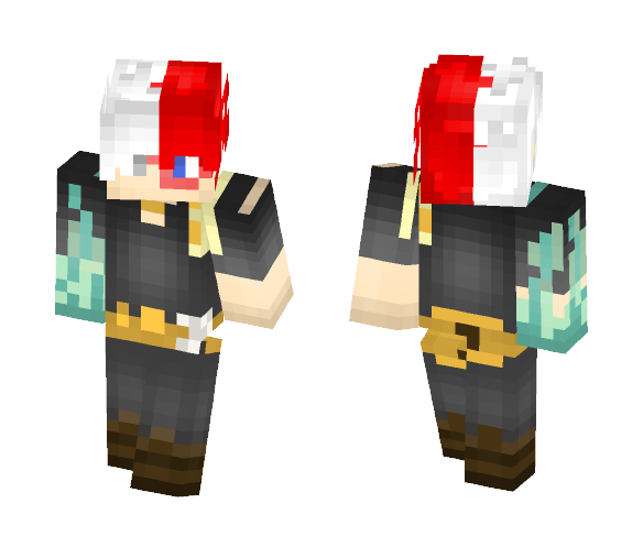 Shoto Todoroki - Male Minecraft Skins - image 1